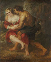 Peter Paul Rubens Shepherd and Shepherdess