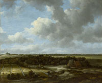 Jacob van Ruisdael Bleaching fields near Haarlem
