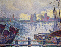 Paul Signac The Harbour of Volendam