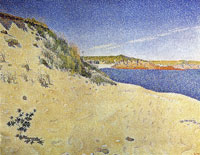 Paul Signac Saint-Briac. Le Port Hue. Opus 212