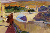 Joaquin Sorolla y Bastida The Blind Man of Toledo