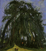 Chaim Soutine - Alley of Trees