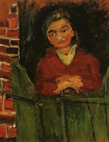 Chaim Soutine Farm girl