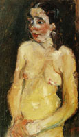 Chaim Soutine Female Nude (Eve)