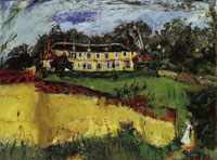 Chaim Soutine Old House near Chartres