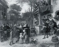 Jan Steen Village Wedding
