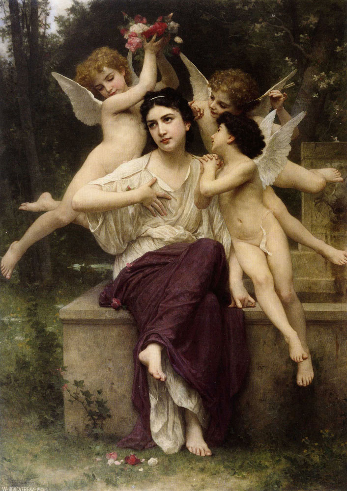 William-Adolphe Bouguereau - Dream of Spring