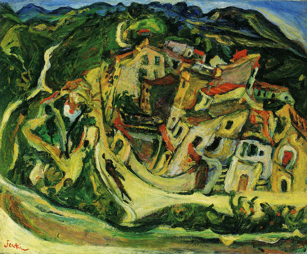 Chaim Soutine - View of Cagnes