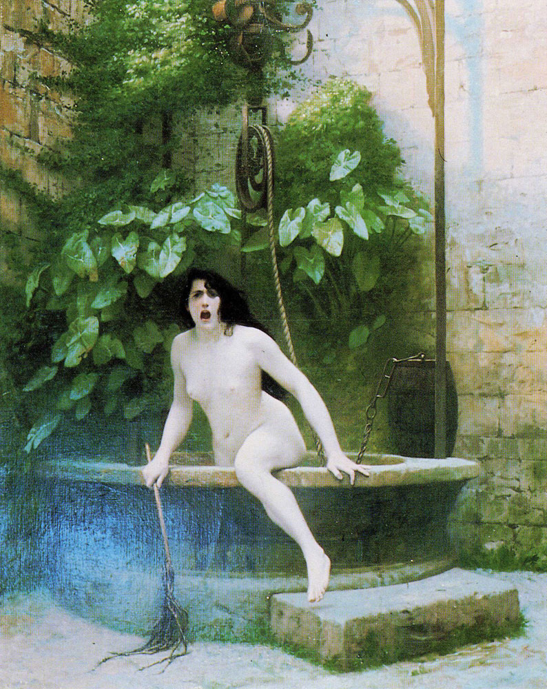 Jean-Léon Gérôme - Truth Coming Out of Her Well