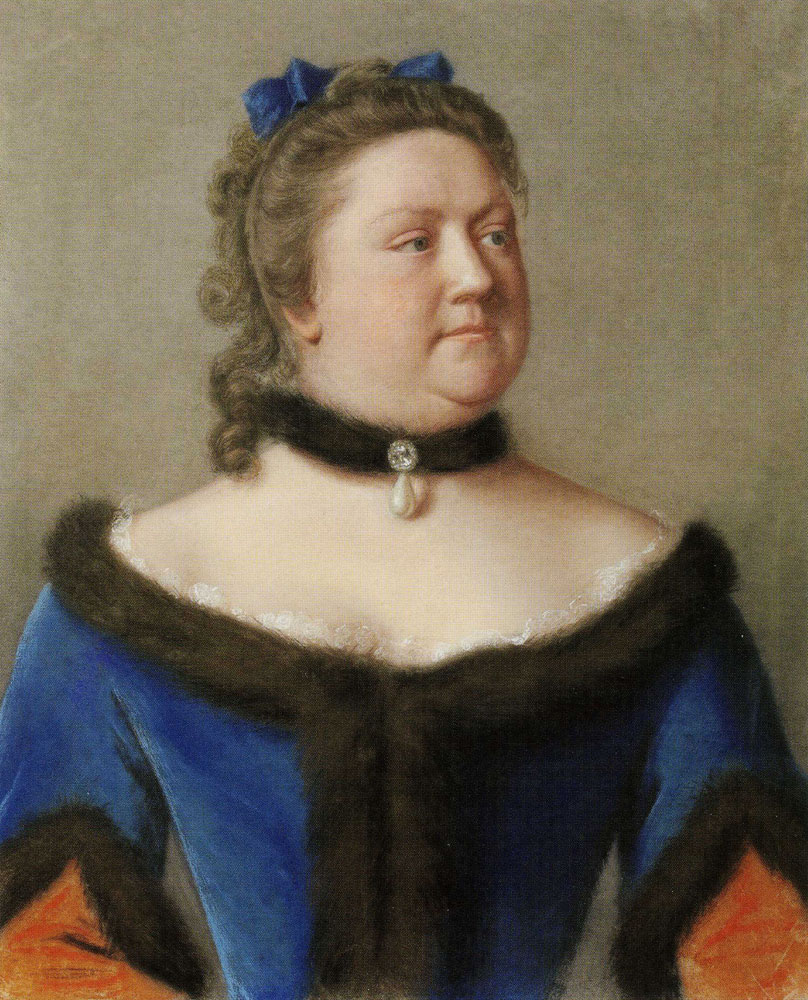 Jean-Etienne Liotard - Katherine Furnese, Countess of Guilford