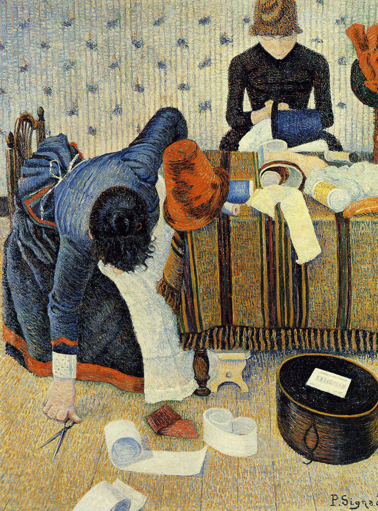 Paul Signac - Les Modistes