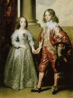 Anthony van Dyck Portrait of William II and His Bride Mary Stuart