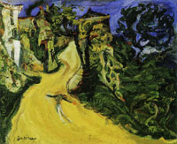 Chaim Soutine Mountain Road at Cagnes