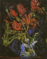 Chaim Soutine Vase with Tulips