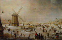 Hendrick Avercamp Winter Scene