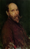 James Abbott McNeill Whistler Portrait of Charles L. Freer