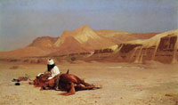 Jean-Léon Gérôme The Arab and his Steed