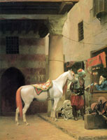 Jean-Léon Gérôme The Saddle Bazaar