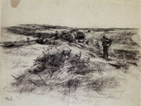 Max Liebermann Car in the Dunes