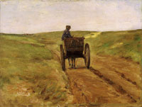 Max Liebermann - Car in the Dunes near Katwijk