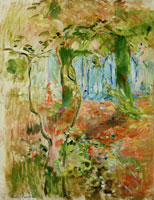 Berthe Morisot Undergrowth in autumn