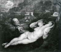 Peter Paul Rubens Sleeping Angelica and the Hermit