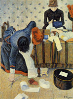 Paul Signac Les Modistes