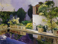 Joaquin Sorolla y Bastida The Pool