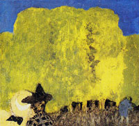 Edouard Vuillard Two Women in the Countryside