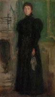 James Abbott McNeill Whistler - Miss Rosalind Birnie Philip Standing