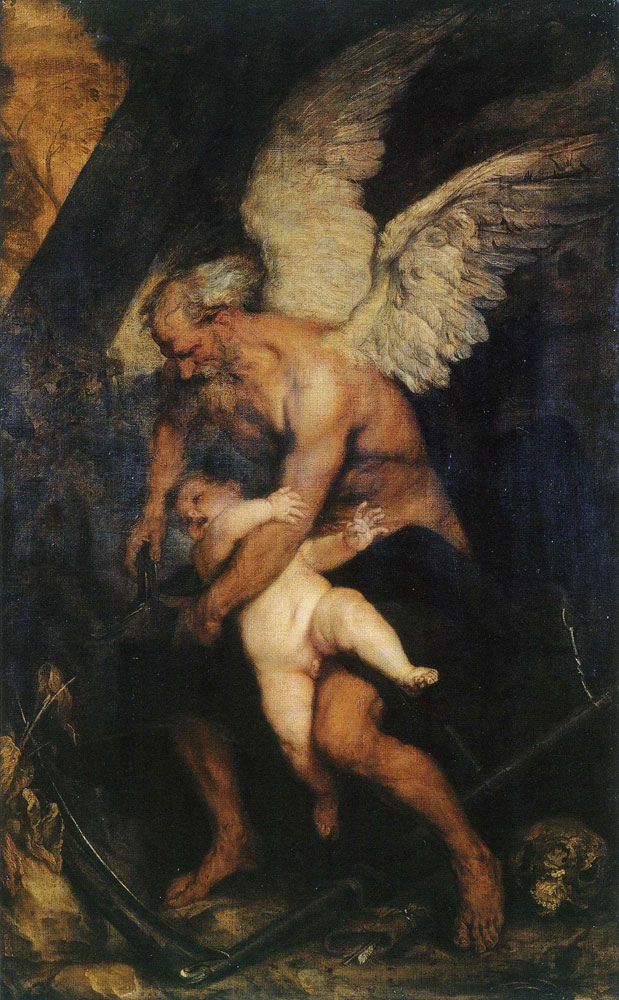 Anthony van Dyck - Time Clipping the Wings of Love