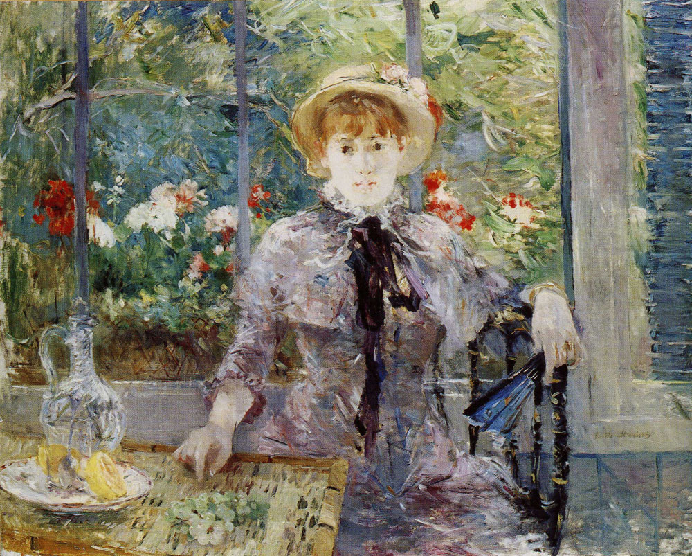 Berthe Morisot - After the Lunch