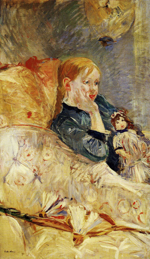 Berthe Morisot - Girl with a Doll