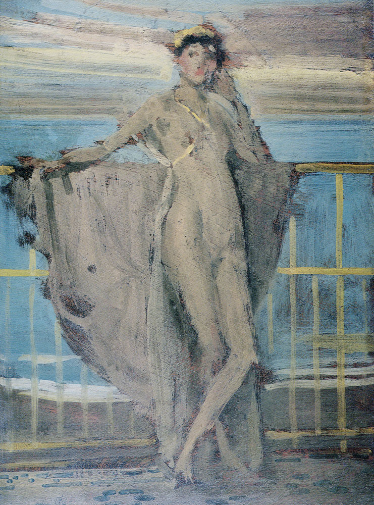 James Abbott McNeill Whistler - Sketch for 'Annabel Lee'