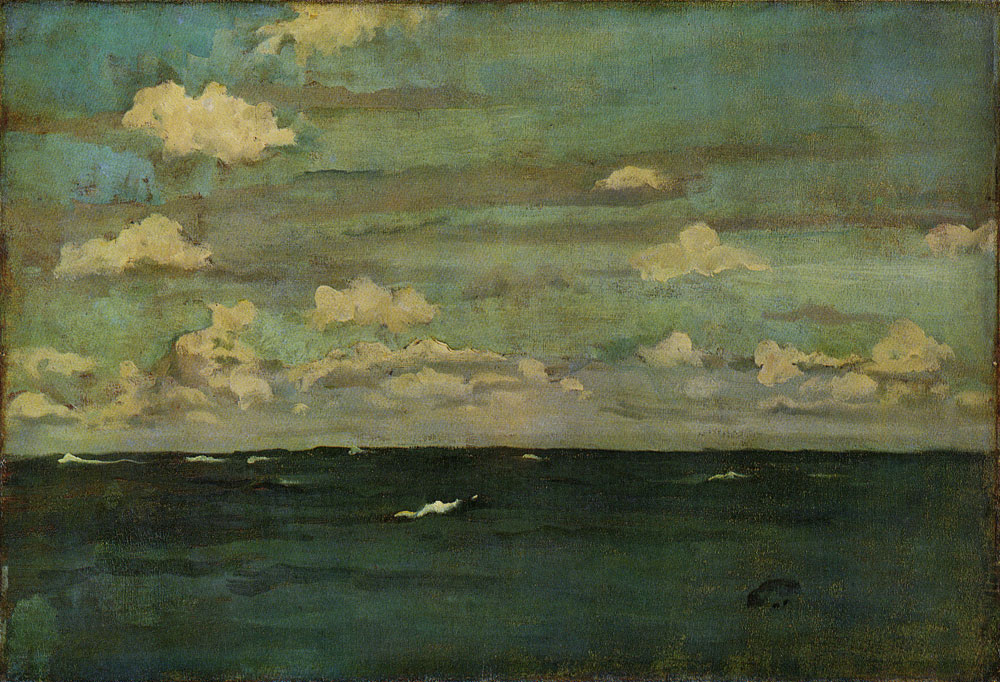 James Abbott McNeill Whistler - Violet and Silver: A Deep Sea