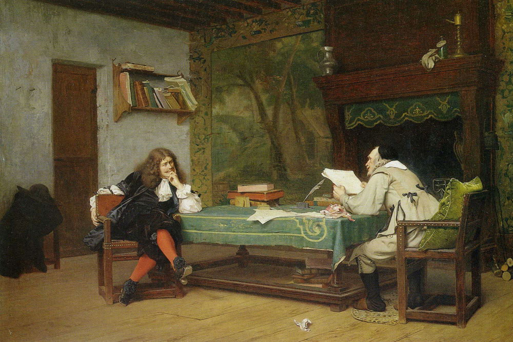 Jean-Léon Gérôme - A Collaboration (Moliere and Corneille)