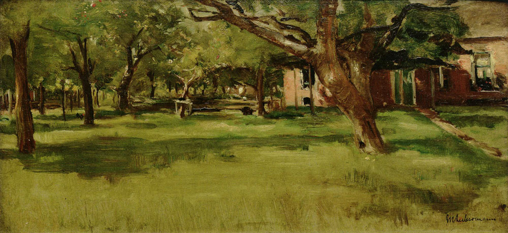 Max Liebermann - Study for The Bleaching