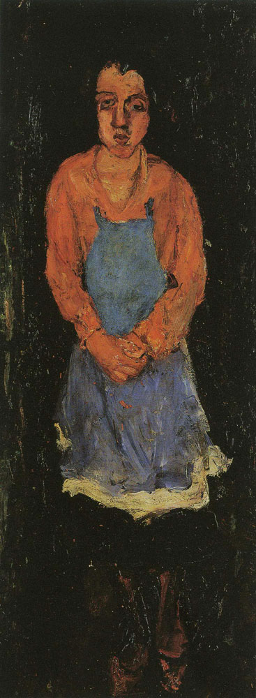 Chaim Soutine - Cook with Blue Apron