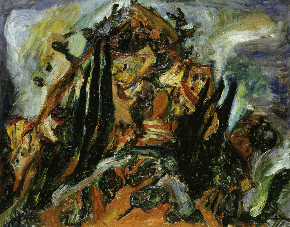 Chaim Soutine - The Hill of Céret