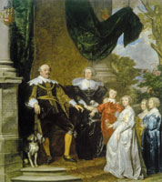 Anthony van Dyck Portrait of Johan III van Nassau-Siegen and His Family