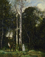 Camille Corot The Parc des Lions at Port‐Marly