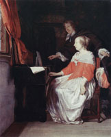 Gabriel Metsu The Music Lesson