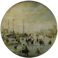 Hendrick Avercamp Winter Landscape