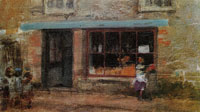 James Abbott McNeill Whistler Blue and Orange: Sweet Shop