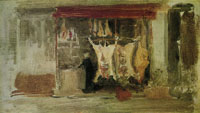 James Abbott McNeill Whistler The Butcher's Shop