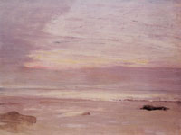 James Abbott McNeill Whistler Crepuscule in Opal: Trouville