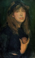 James Abbott McNeill Whistler Dorothy Seton - A Daughter of Eve