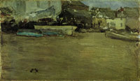 James Abbott McNeill Whistler Low Tide