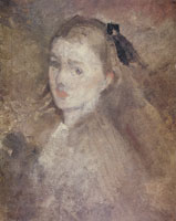James Abbott McNeill Whistler Study for the Head of Miss Cicely H. Alexander