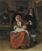 Jan Steen The Oysters